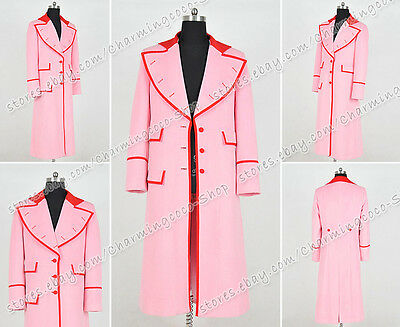 Costumes Buy (Who Buy Doctor Costume Dr. Pink Trench Coat Female Garment Party Wear)
