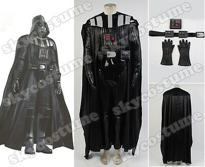 Star Wars Sith Darth Vader Anakin Skywalker Outfit Set Cosplay Costume (Sith Outfit)