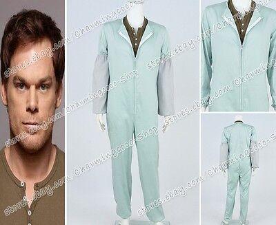 Dexter Cosplay Dexter Morgan Costume TV Jumpsuit Shirt Men's Halloween - Halloween Dexter Costume
