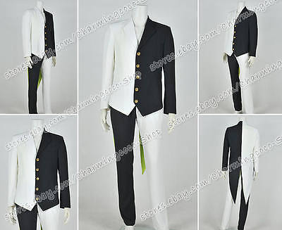 Black And White Cosplay Costume Two Face Suit Whole Set Uniform High Quality - Two Face Cosplay Suit