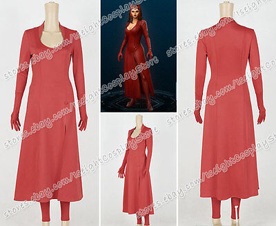 Marvel Avengers Cosplay Scarlet Witch Costume Halloween Party Women Clothing New - Marvel Scarlet Witch Costume