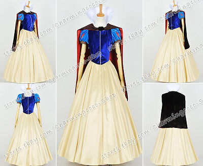 Snow White And The Seven Dwarfs Cosplay Costume Princess Snow White Royal Gown