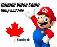 Canada Video Game Swap and Talk -   I'm giving away $25 ...