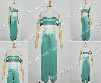Aladdin And His Lamp Cosplay Princess Jasmine Costume Dress Top Pants Uniform - Jasmine And Aladdin Costumes