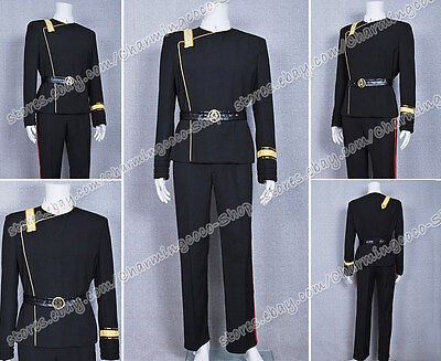 Star Trek Cosplay II-VI Wrath of Khan Kostüm schwarze Uniform - Attraktive Kostüm