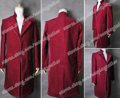 Charlie And The Chocolate Factory Movie Johnny Depp Willy Wonka Red Trench coat](Johnny Depp Willy Wonka Costume)