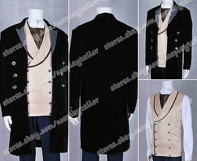 Who Purchase Doctor The 8th Doctor Cosplay Costume Suit Coat Jacket Shirt Vest](Purchase Costumes)