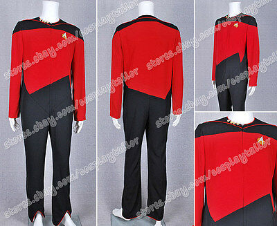 Star Trek Cosplay Command Uniform Red Jumpsuit Costume High Quality Hot Sale New - High Quality Star Trek Uniform