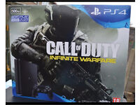 Ps4 brand new sealed with fifa 17 and COD: infinite warfare and receipts from argos