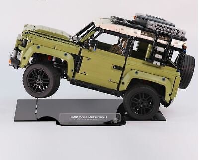Acrylic Display Stand for LEGO Technic Land Rover Defender 42110 (Aus Top Rated)