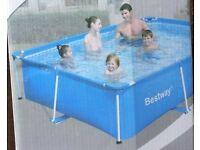 Bestway steel pro swimming pool 259 X 170 X 61