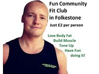 Fun Community Fitness Club - Have Fun, Lose Body Fat & Live Healthy in Folkestone