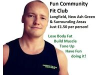 Fun Community Fit Club - Lose Body Fat   Gain Muscle and Tone Up in Longfield, New Ash Green Fitness