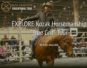 "August 19 & 20/17 Kozak Horsemanship ""True Grit"" Tour"