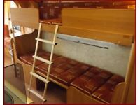 Bunk Bed Ladder Swift Caravan Original Ladder Swift Ace Abbey sterling Group Like New. REDUCED