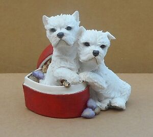 Country Artists - Detailed Figurine - Westie Terriers