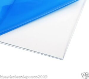 1mm 1 5mm 2mm 3mm clear plastic perspex acrylic cut sheet a4 size ebay. Black Bedroom Furniture Sets. Home Design Ideas
