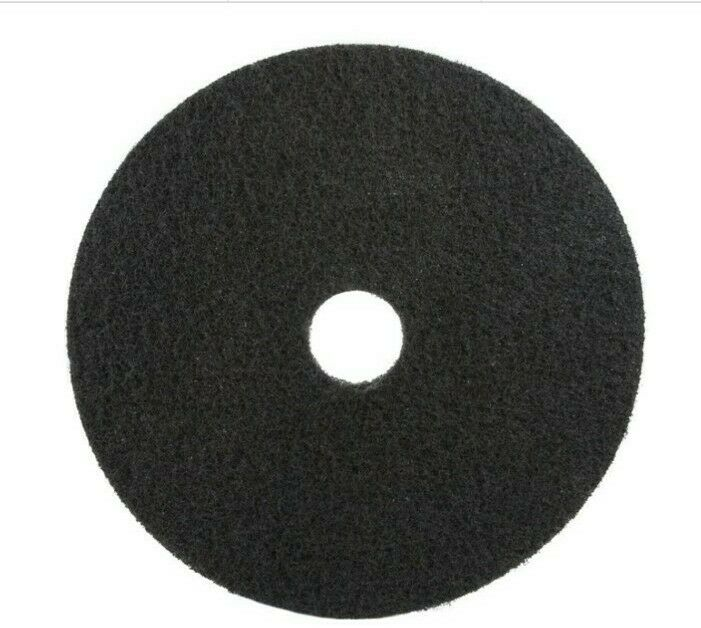 "3M 7200 Stripping Pad, 17"" in Black (Case of 5)"
