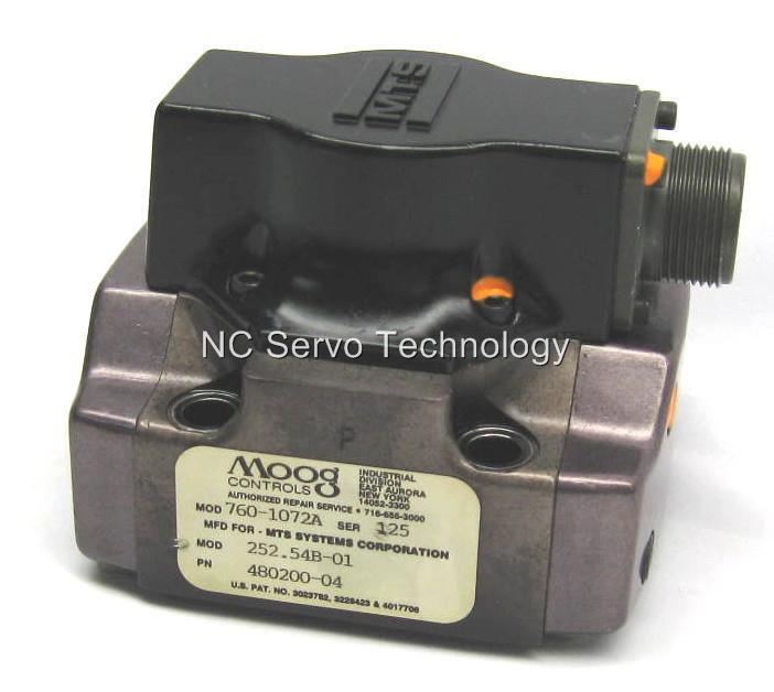 Moog 760-1072a Servo Valve Rebuilt  W/ 12 Month Warranty