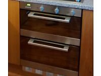Candy 'Built Under' Electric double oven. Fan & Conventional + Grill. Good working order.