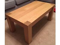 OAK Coffee Table FREE DELIVERY 096