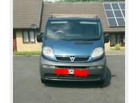 Vauxhall vivaro breaking