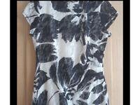 Ladies Roman Navy Lace Dress size 16