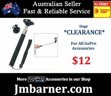 For GoPro - Monopod Selfie Stick Extendable - Hero 4 3 3+ 2 NEW Fairfield Brisbane South West Preview