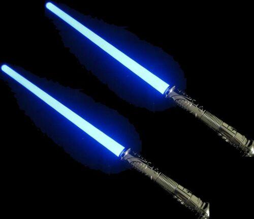 2 LED FX Style Star Wars Lightsaber Light Saber Sword Makes Sound Changes Color | eBay