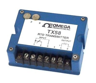 Omega Engineering Tx58-pt2 Rtd Transmitter