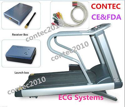 Contec 8000s Wireless Stress Ecg Systems12 Leadsoft Ware Ecg Data Collection