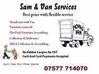 Man With Van North London, NW London Hertfordshire