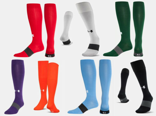 NEW Under Armour Long Over the Calf Soccer Socks - Multiple Colors