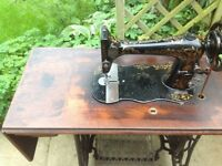Singer treadle sewing machine early 1890's