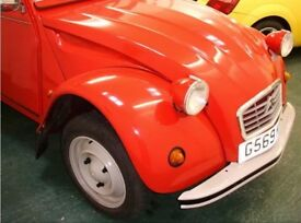 2CV Citroen Special in beautiful restored condition