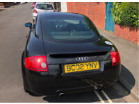 Audi TT QUATTRO 1.8 TURBO Petrol 225 BHP Black Coupe Leather interior 12 Months MOT £1495