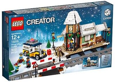 LEGO 10259 WINTER HOLIDAY STATION , BRAND NEW, SEALED, MINT BOX, FREE SHIPPING