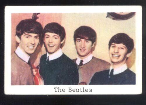 The Beatles 1966 - 1968 Swedish Popbilder Pop Movie Music Stars Card