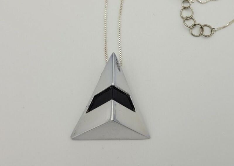 Daft Punk Random Access Memories Silver Thomas Cosplay Necklace Replica