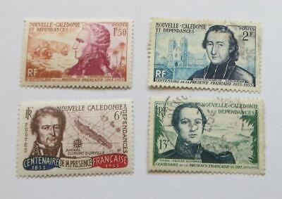 France New Caledonia 1953 Centenary set