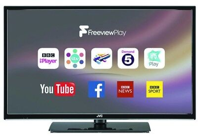 "JVC LT-32C672 32"" Smart HD LED TV - Internet, WiFi, Freeview Play & HD, USB PVR"