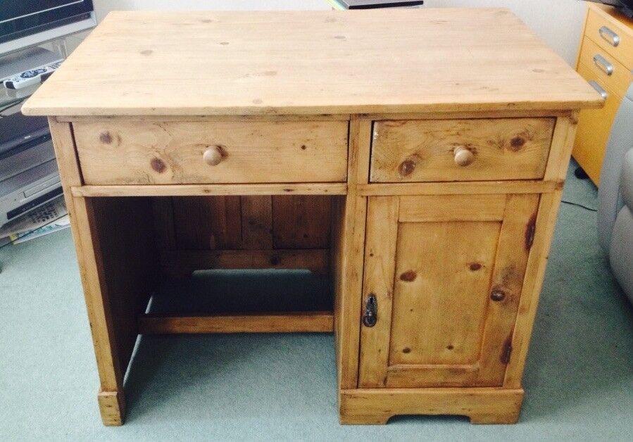 Antique Pine Desk - Antique Pine Desk In Erskine, Renfrewshire Gumtree
