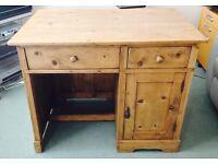 Antique Pine Desk