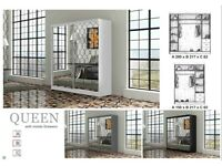 🎉😍New Huge Sale!!Brand New QUEEN Sevroll System 2-Door Wardrobe on Discounted Price !!Book Now🎉😍