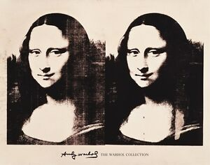 ANDY-WARHOL-Double-Mona-Lisa-1963-POP-ART-PRINT-22x28-Poster