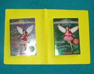 2 Christmas  Special Edition Fairy Books Holly and Paige
