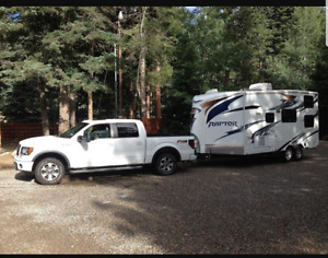 $30,000 Truck and Camper combo
