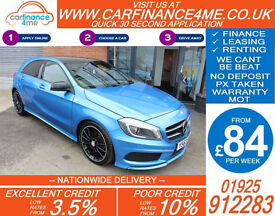 2014 MERCEDES A200 1.8 CDI AMG SPORT GOOD / BAD CREDIT CAR FINANCE FROM 84 P/WK