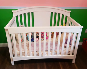 4 in 1 crib to double bed