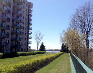 Waterfront condo! Great space! Lovely view!  SOLD!